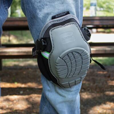 GelDome Soft Cap Non-Marring  Flooring Knee Pad (1-Pair)