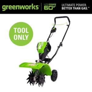 PRO 8 in. 60V Battery Cordless Garden Cultivator (Tool-Only)