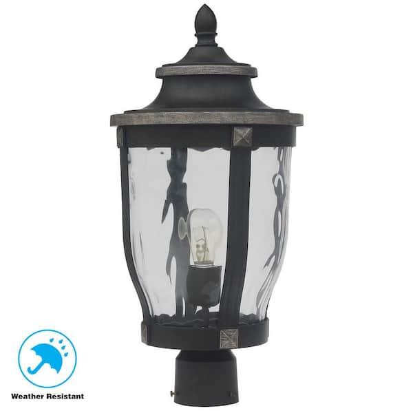 Home Decorators Collection Mccarthy 1, Outdoor Lamp Post Lighting Fixtures