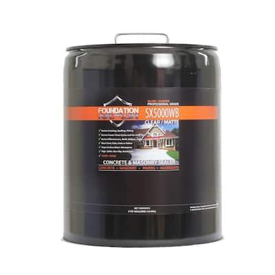 5 gal. Penetrating Water Based Silane Siloxane Concrete Sealer, Brick Sealer and Masonry Water Repellent
