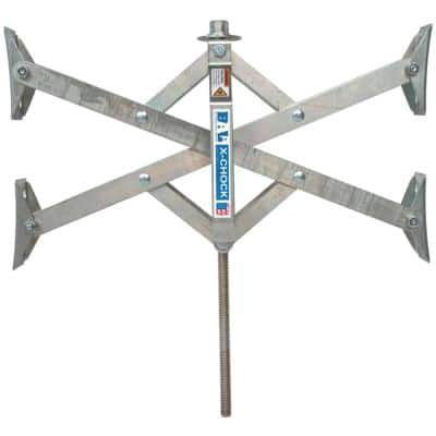 X-Tended X-Chock Tire Locking Chock with 17 in. Extension for RV Trailers
