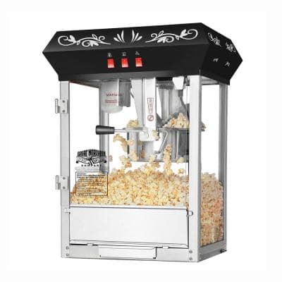 Foundation Style Antique 8 oz. Black Popcorn Popper