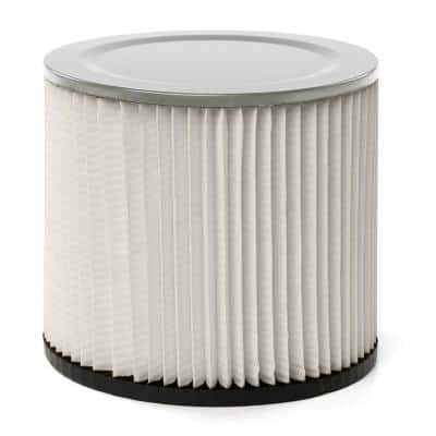 Standard Replacement Cartridge Filter for Most Shop-Vac Branded Wet/Dry Shop Vacuums