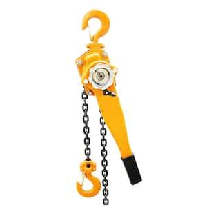 3/4-Ton Steel Block Chain Lever Hoist Puller Lifter 5 ft.
