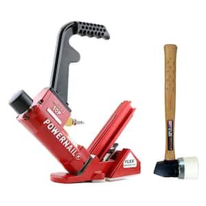 Pneumatic 18-Gauge Flex Hardwood Flooring Cleat Nailer