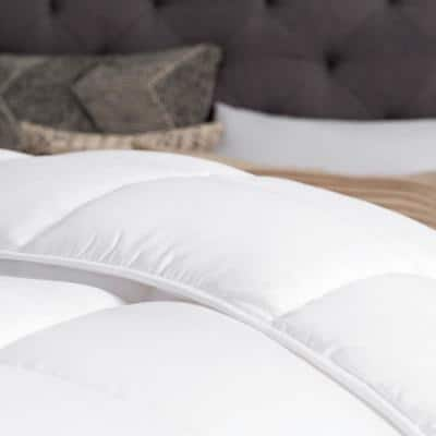 Down Alternative Reversible Quilted Comforter