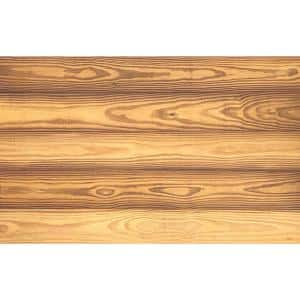 Thermo-treated 1/4 in. x 5 in. x 4 ft. Gold Color Barn Wood Wall Planks (10 sq. ft. per 6 Pack)