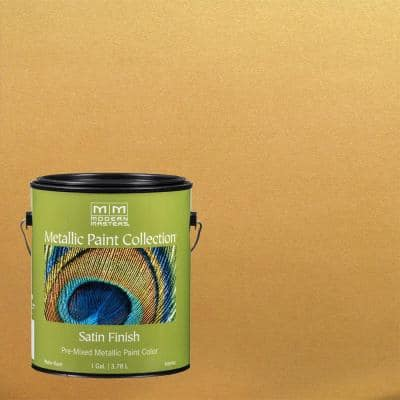 1 gal. Iridescent Gold Water-Based Sheer Metallic Interior Paint