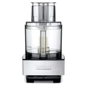 Custom 14-Cup 2-Speed Brushed Stainless Steel Food Processor with Pulse Control