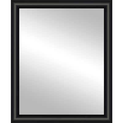 24x30 Jude Black Framed Mirror