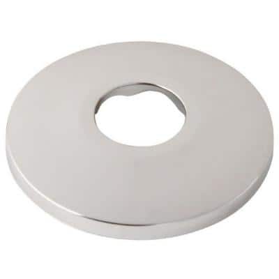 1/2 in. Escutcheon Plate Iron Pipe Size Flange in Chrome-Plated Steel