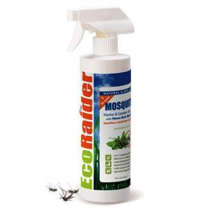 Mosquito Killer 16 oz., Triple-action protection, Kills Mosquito, Kills Larvae, 2 week residual Repellent, Non-toxic