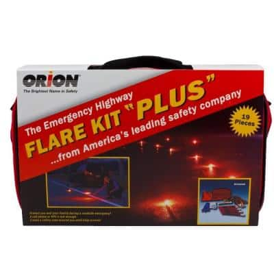 Deluxe Flare Roadside Emergency Kit