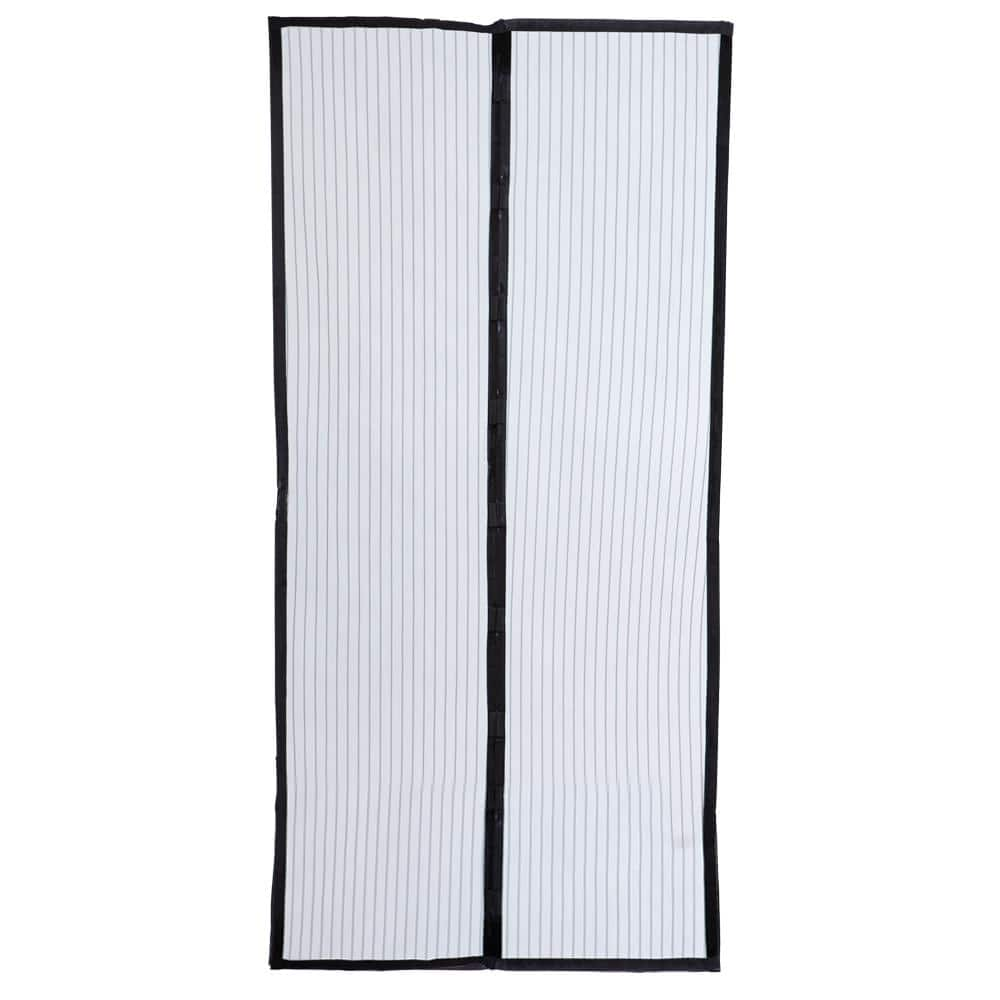 Screen Door White Hands-Free Magic Mesh magnets For Pets STOP Bug Mosquito Fly