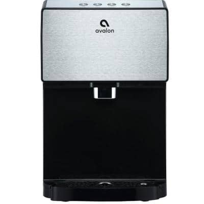 Electric Countertop Bottleless Water Cooler Water Dispenser - 3 Temperatures, Self Cleaning, Stainless Steel