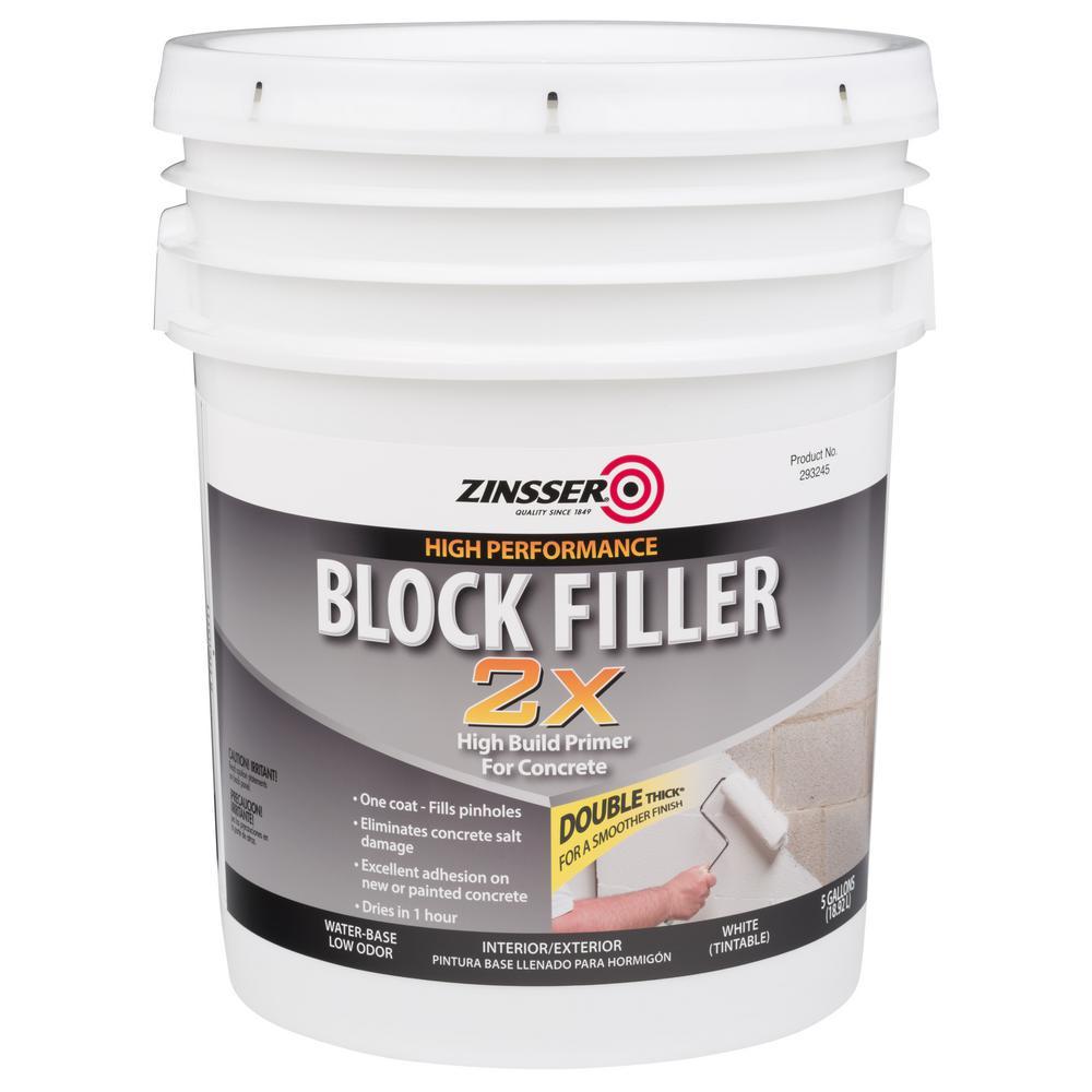 5 gal. Block Filler 2X Primer