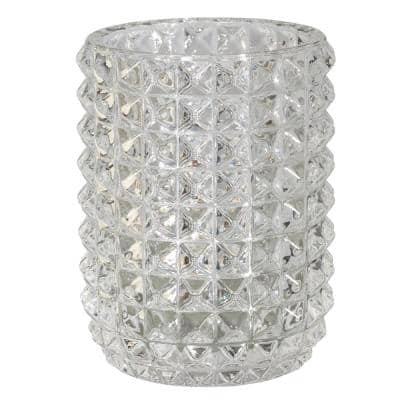 Deco Tumbler in Clear