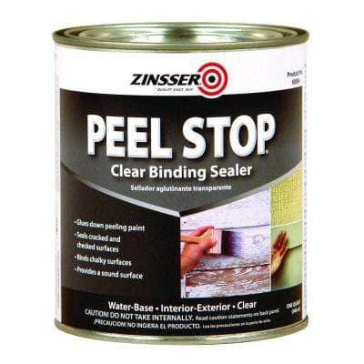 Peel Stop 1 qt. Clear Water-Based Interior/Exterior Binding Sealer (6-Pack)