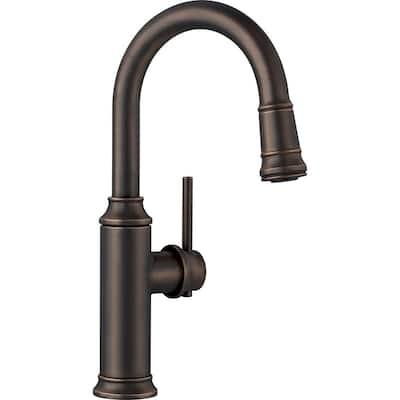 Empressa Single-Handle Bar Faucet in Oil Rubbed Bronze