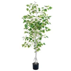 5 ft. Artificial Birch Tree