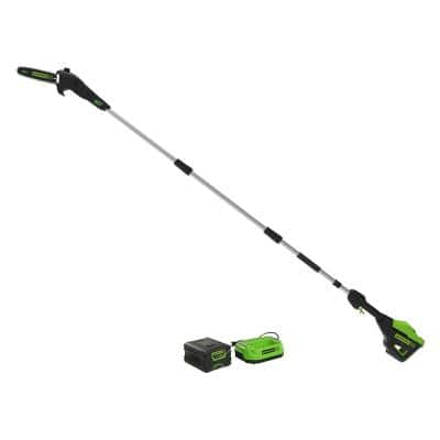 PRO 10 in. 60-Volt Battery Cordless Pole Saw with 2.0 Ah Battery and Charger