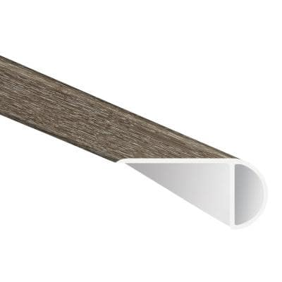 Montage 0.75 in. Thick x 2.33 in. Wide x 94 in. Length Luxury Vinyl Overlapping Stair Nose Molding