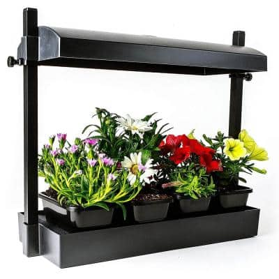 T5HO Grow Light Garden Fluorescent Micro with 1 Strip Light and T5 Reflector
