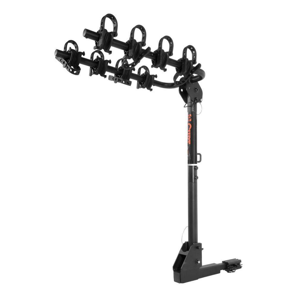 Extendable Hitch Mounted Bike Rack 2-Bike or 4-Bike