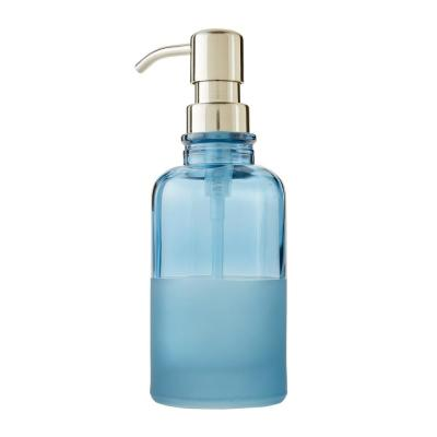 Ombre Freestanding Lotion / Soap Dispenser in Teal