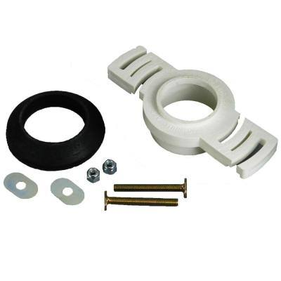 PVC 2 in. Over Pipe Fit Radially Adjustable Urinal Flange Kit