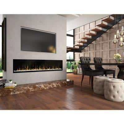 IgniteXL  74 in. Built-In Linear Electric Fireplace Insert