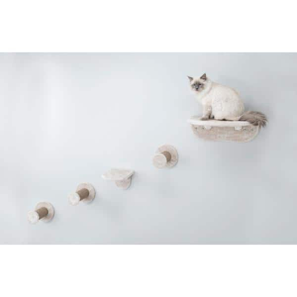 Trixie Brown Wall Mount Cat Playground 49925 The Home Depot