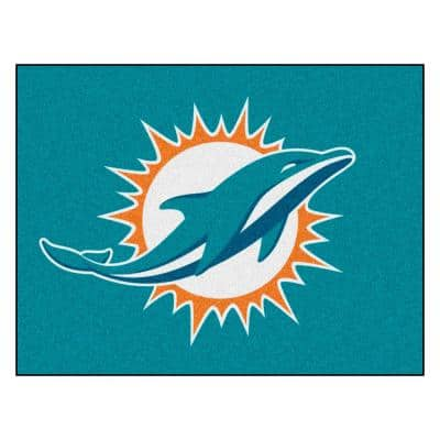 NFL - Miami Dolphins Rug - 19in. x 30in.