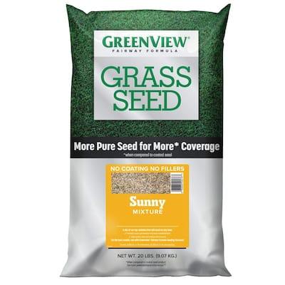 20 lbs. Fairway Formula Grass Seed Sunny Mixture