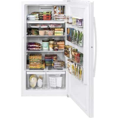 Garage Ready 17.3 cu. ft. Frost-Free Upright Freezer in White