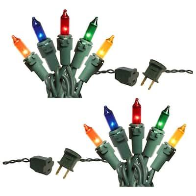 200-Light Multi Color Mini String Lights
