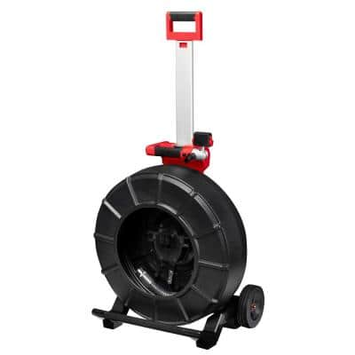 M18 18-Volt Lithium-Ion Cordless 200 ft. Pipeline Inspection System Image Reel (Tool-Only)