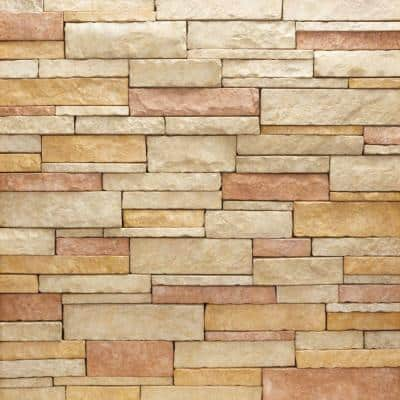 Stacked Stone Rio Flats 150 sq. ft. Bulk Pallet Manufactured Stone