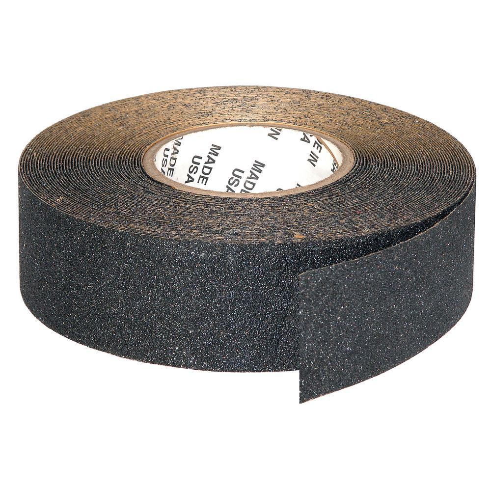 2 in. x 20 yds. Black Anti-Skid Self Adhesive Tape (1-Roll)