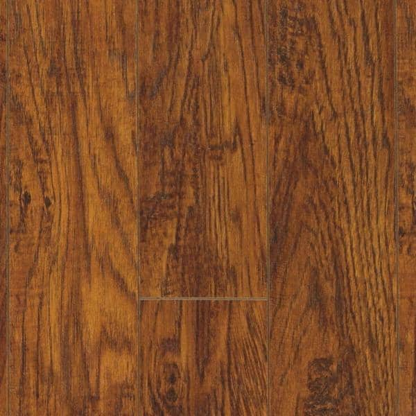 Pergo Xp Highland Hickory 10 Mm T X 4, Red Hickory Laminate Flooring