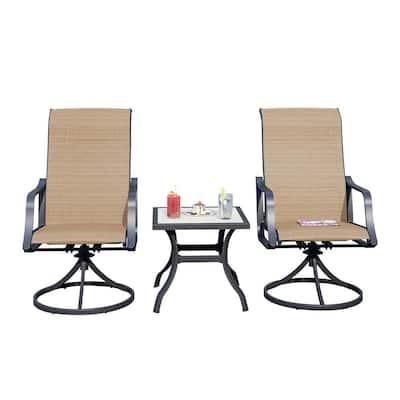3-Piece Metal Outdoor Bistro Set
