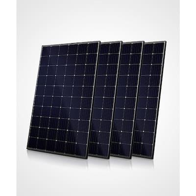 300-Watt Monocrystalline Solar Panels (4-Pack 1200-Watt)
