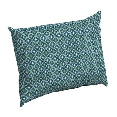 Alana Tile Rectangle Outdoor Throw Pillow