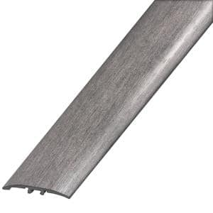 Gray 1/4 in. Thick x 2 in. Wide x 94 in. Length Laminate Multi-Purpose Reducer Molding