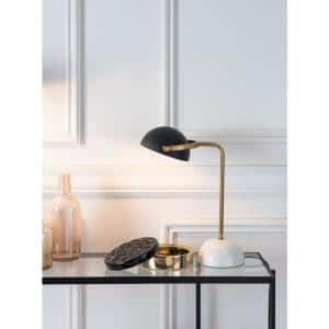 Irving 21.3 in. Black Table Lamp
