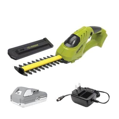 24-Volt Cordless Handheld Trimmer Kit with 2.0 Ah Battery plus Charger