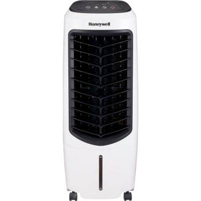 194 CFM 3-Speed Portable Evaporative Cooler for 120 sq. ft. with Remote Control in White