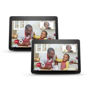 Echo Show (2nd Gen) in Black (2-Pack)