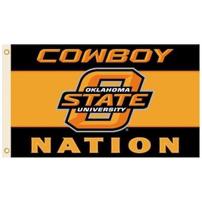 NCAA 3 ft. x 5 ft. Oklahoma State Flag
