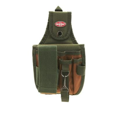 5-Pocket 6 in. Rear Guard Tool Pouch with Flap Fit Holster Tool Pouch